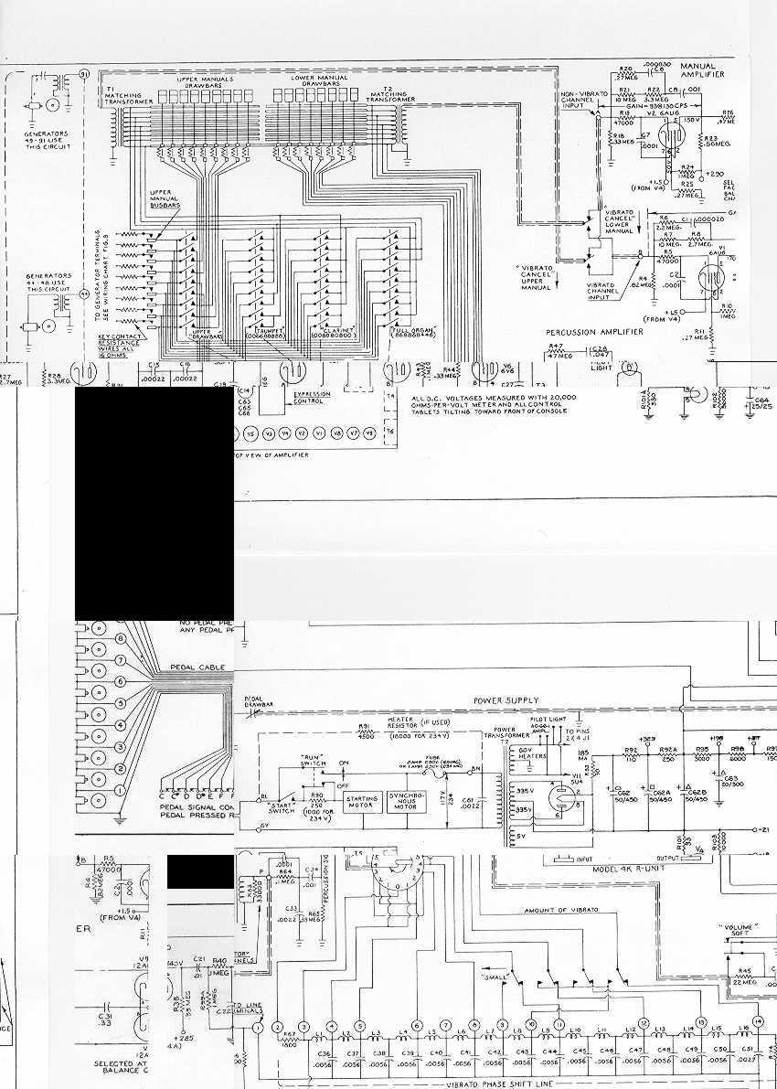 index of   hammond sub  schematics